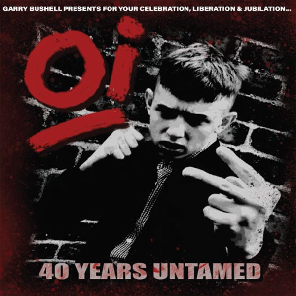 V/A, oi! 40 years untamed cover