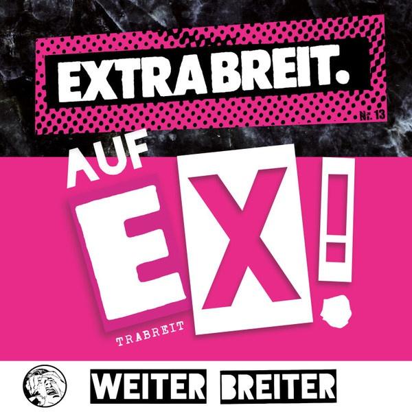 EXTRABREIT, auf ex! cover