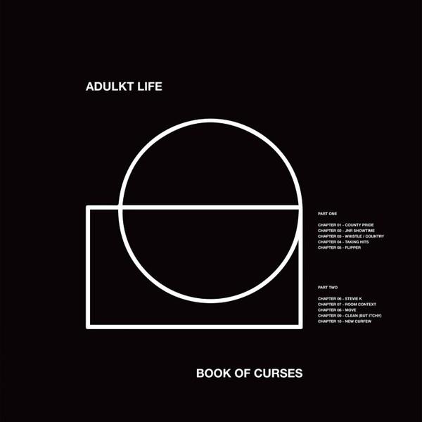 ADULKT LIFE, book of curses cover
