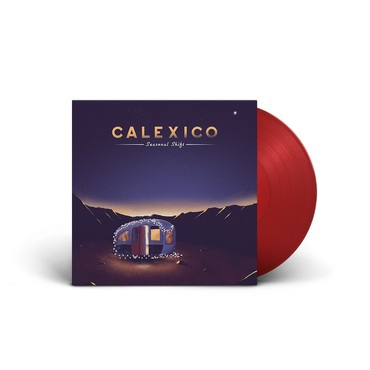 CALEXICO, seasonal shift (exclusive red version) cover