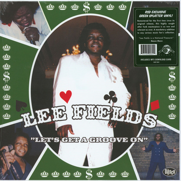 LEE FIELDS, let´s get a groove on cover