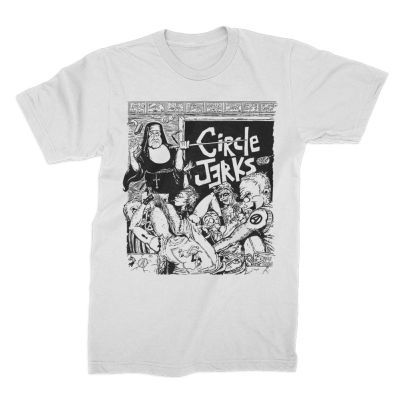 CIRCLE JERKS, classroom white (boy) white cover