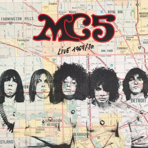 MC5, live 1969/70 cover
