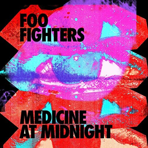 FOO FIGHTERS, medicine at midnight cover