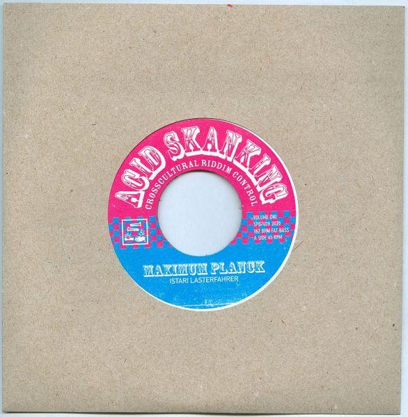 ISTARI LASTERFAHRER, acid skanking vol. 1 cover