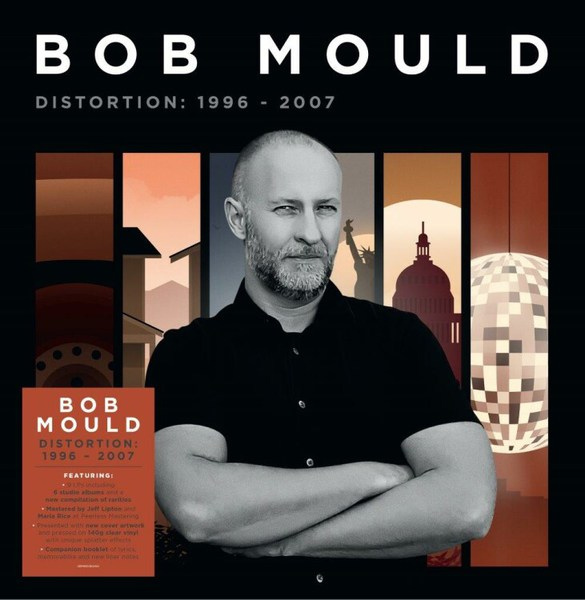 BOB MOULD, distortion: 1996-2007 cover