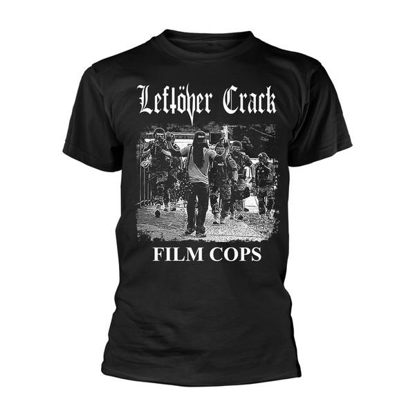 LEFTOVER CRACK, film cops (boy) black cover
