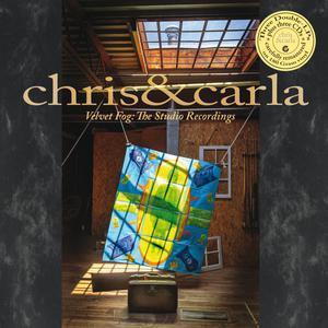 CHRIS & CARLA, velvet fog: the studio recordings cover