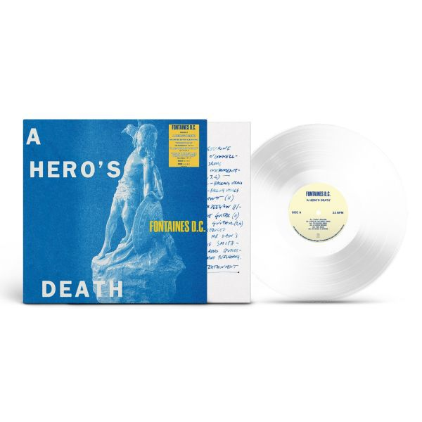 FONTAINES D.C., a hero´s death (loverecordstores edition) cover