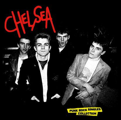 CHELSEA, punk rock singles collection cover