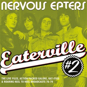 NERVOUS EATERS, eaterville vol.2 cover
