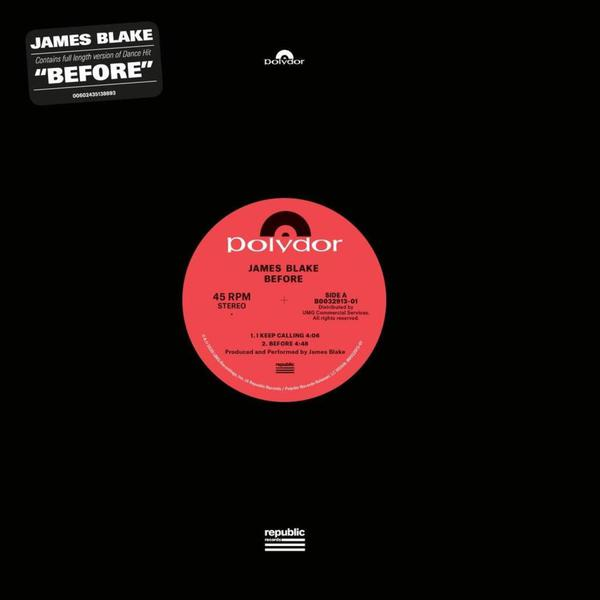 JAMES BLAKE, before ep cover