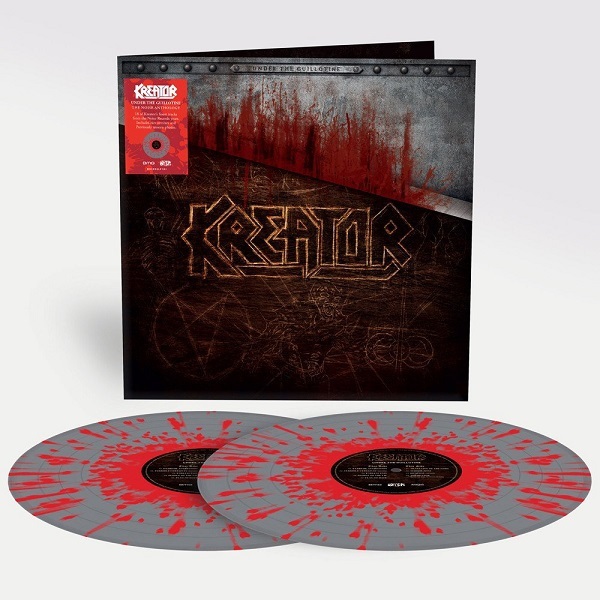 KREATOR, under the guillotine cover
