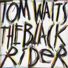 TOM WAITS, the black rider cover
