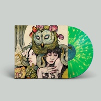 KVELERTAK, s/t (green / yellow splatter) cover