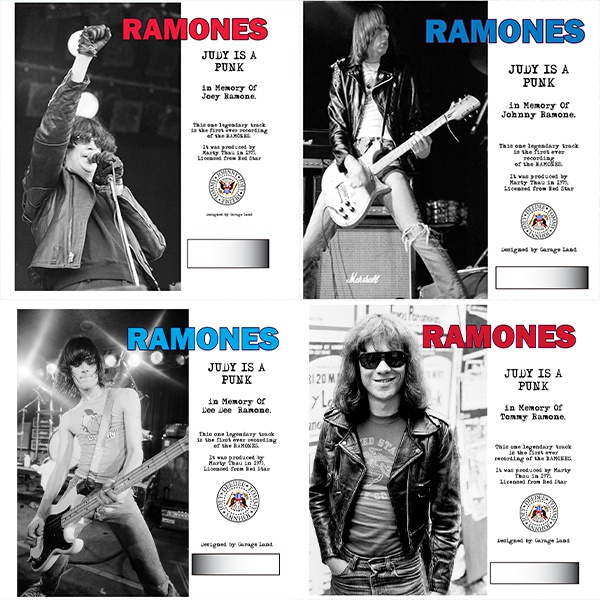 RAMONES, judy is a punk - bundle cover