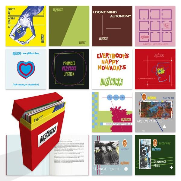 BUZZCOCKS, complete ua singles 1977-1980 cover
