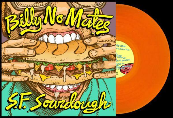 BILLY NO MATES, sourdough cover