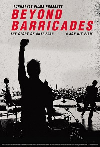 ANTI-FLAG, beyond barricades - story of anti-flag cover