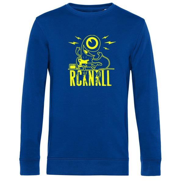 DIRK UHLENBRUCK, rcknrll (sweater), royal blue cover
