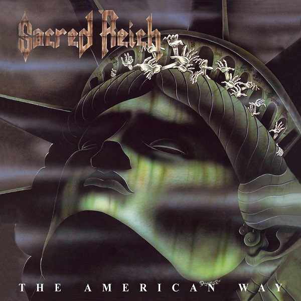 SACRED REICH, the american way cover