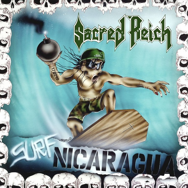 SACRED REICH, surf nicaragua cover