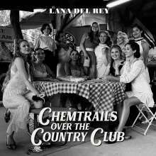 LANA DEL REY, chemtrails over the country club cover