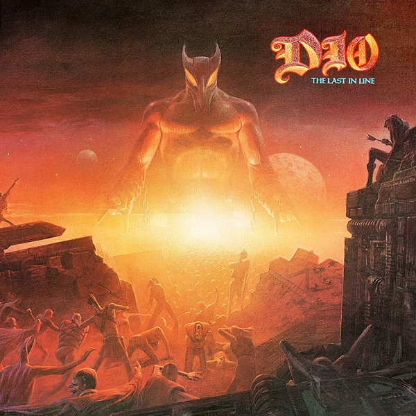 DIO, the last in line cover