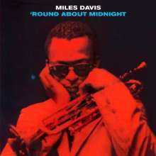 MILES DAVIS, round about midnight cover