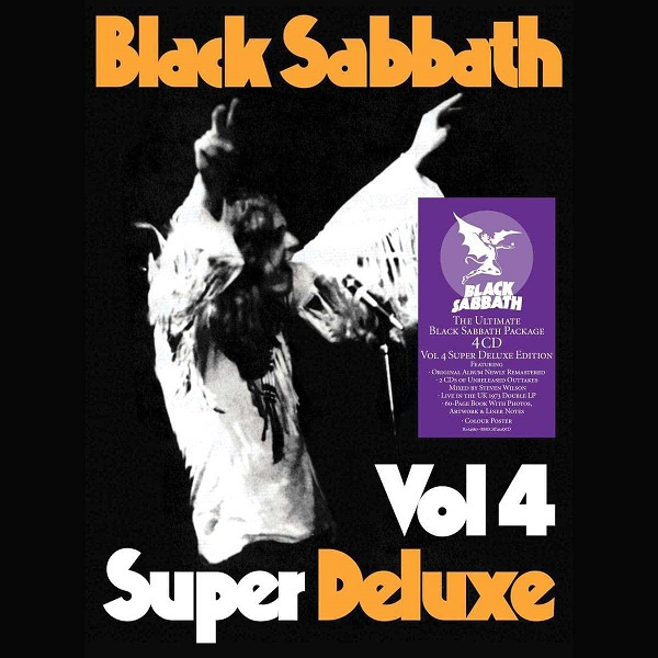 BLACK SABBATH, vol. 4 (super deluxe) cover