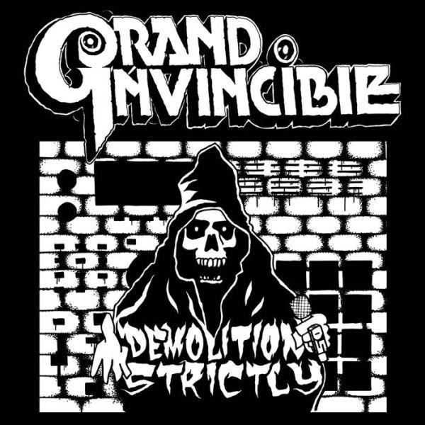 GRAND INVINCIBLE, demolition strictly cover