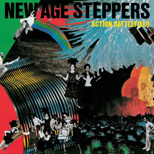 NEW AGE STEPPERS, action battlefield cover
