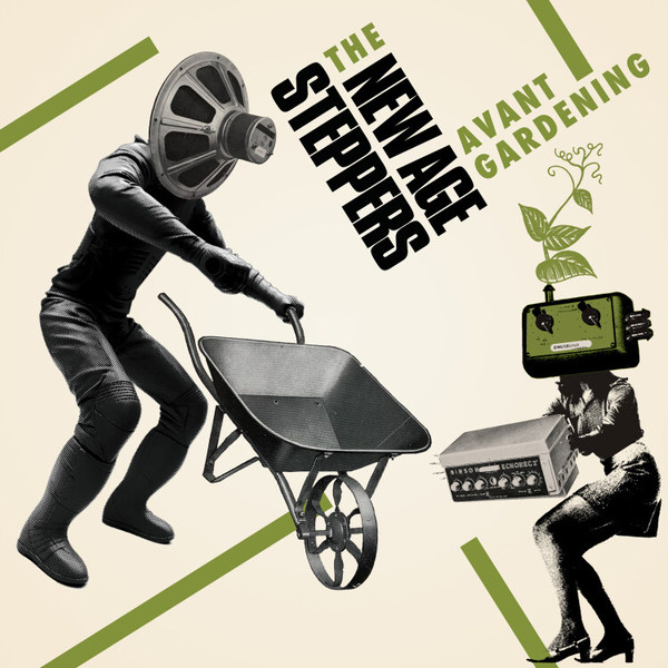 NEW AGE STEPPERS, avant gardening cover