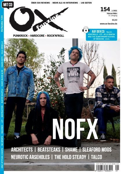 OX, # 154 cover