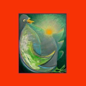 TY SEGALL & CORY HANSON, She´s a beam / milk bird flyer cover