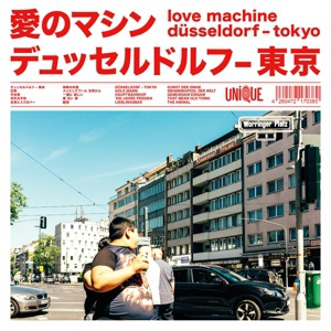 LOVE MACHINE, düsseldorf-tokyo cover