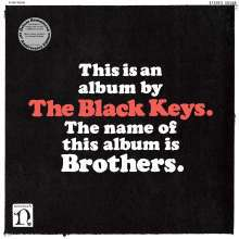 BLACK KEYS, brothers (10th anniversary) cover