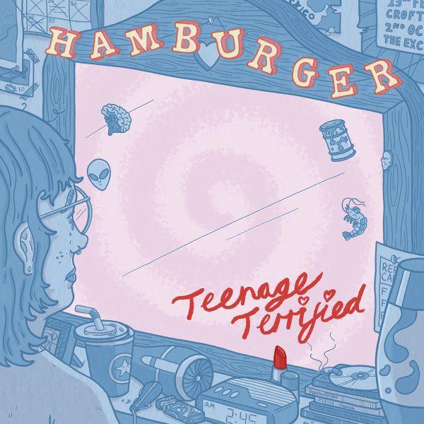 HAMBURGER, teenage terrified cover