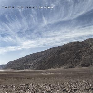 YAWNING SONS, sky island cover