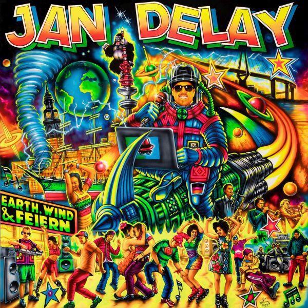 JAN DELAY, earth, wind & feiern cover