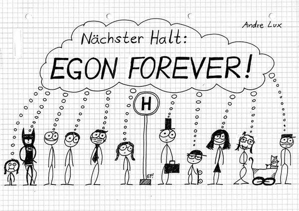 ANDRE LUX, nächster halt: egon forever cover