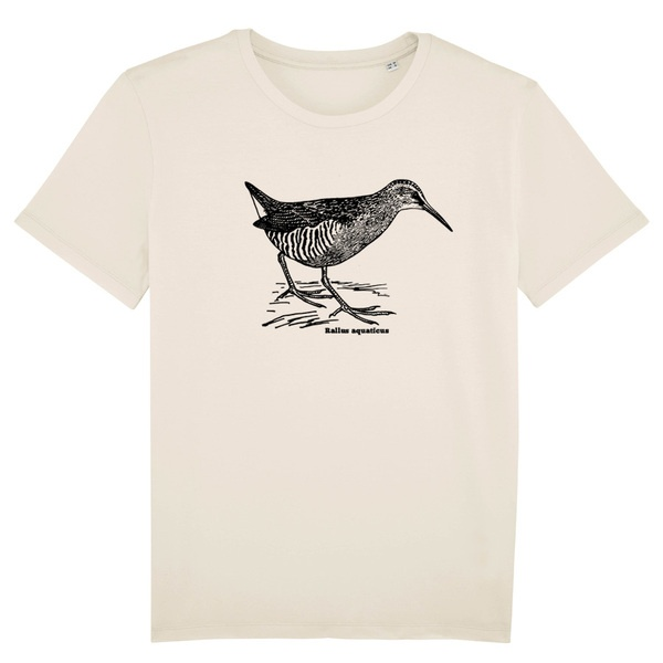 BIRDSHIRT, wasserralle (boy), natural cover