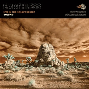 EARTHLESS, live in the mojave desert vol. 1 cover