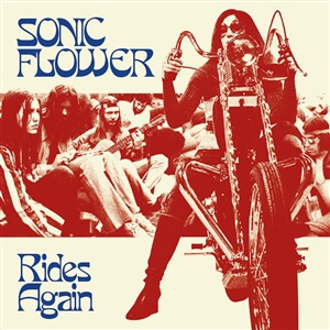 SONIC FLOWER, rides again cover