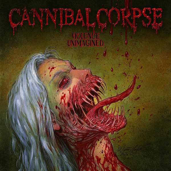 CANNIBAL CORPSE, violence unimagined cover