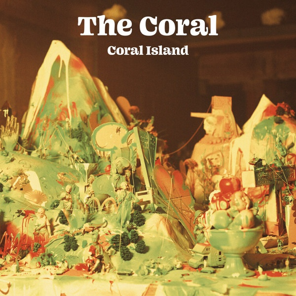 CORAL, coral island cover