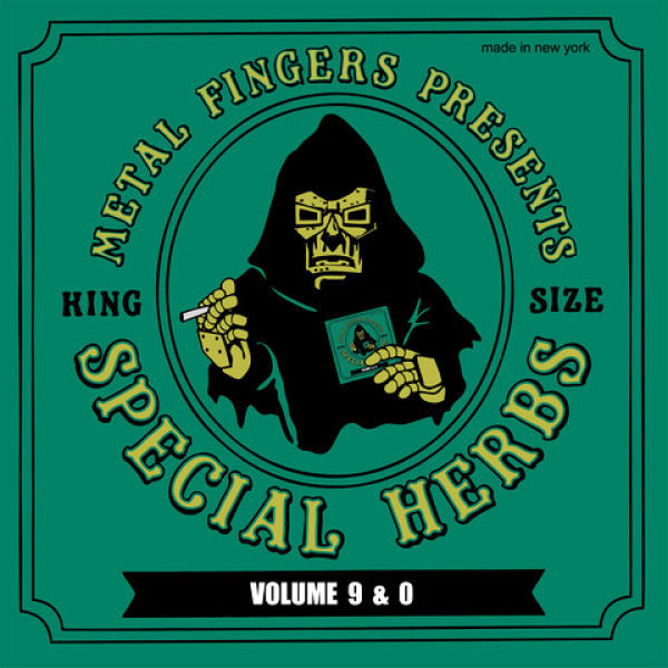 MF DOOM, special herbs 9 & 0 cover