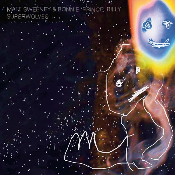 BONNIE PRINCE BILLY & MATT SWEENEY, superwolves cover