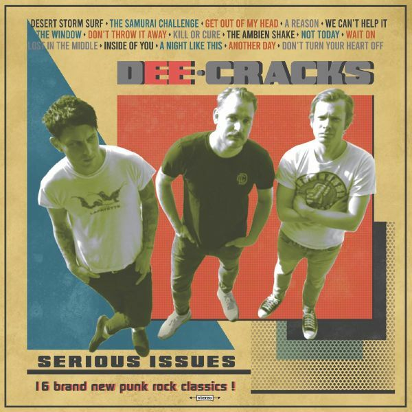 DEECRACKS, serious issues cover
