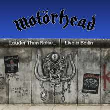MOTÖRHEAD, louder than noise...live in berlin cover